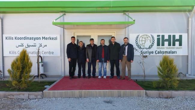 Dilovası İHH'dan Suriyeli yetimlere yardım eli