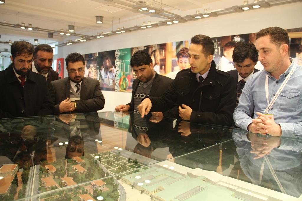 Afganistan heyeti Büyükşehir'in örnek projelerini inceledi