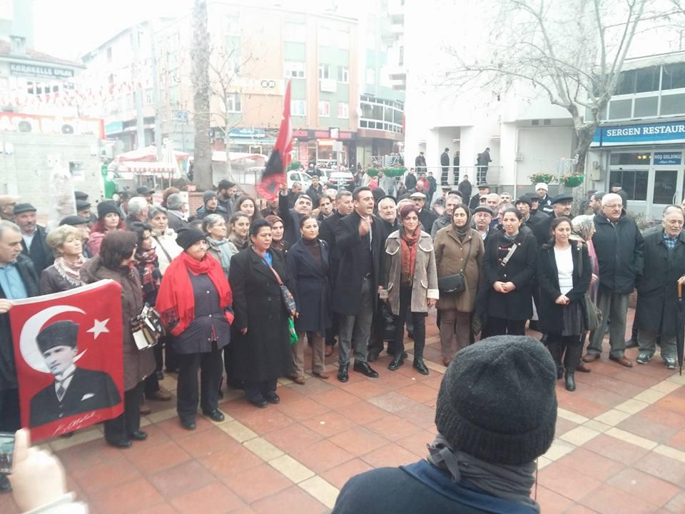 """CHP Darıca'dan """"Ayağa Kalkıyoruz"""" Eylemi"""
