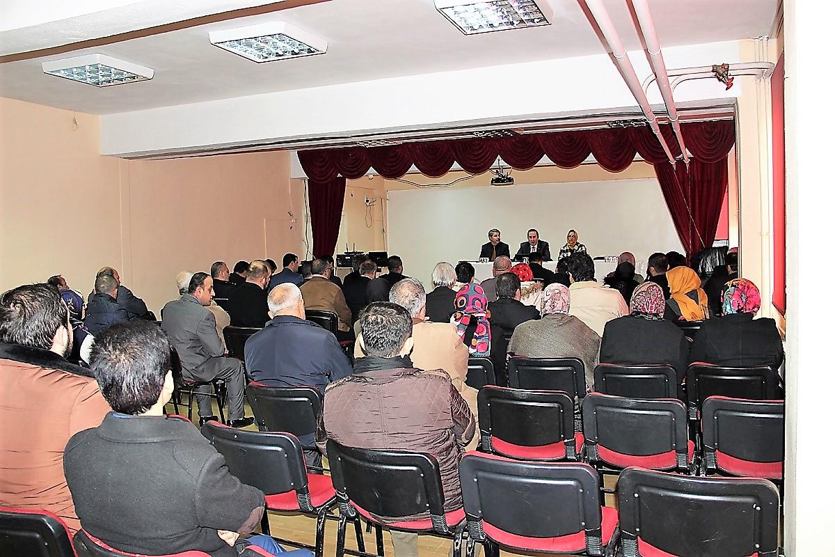 Halk Toplantılarının ilki Kaymakam Hotman gerçekleştirildi
