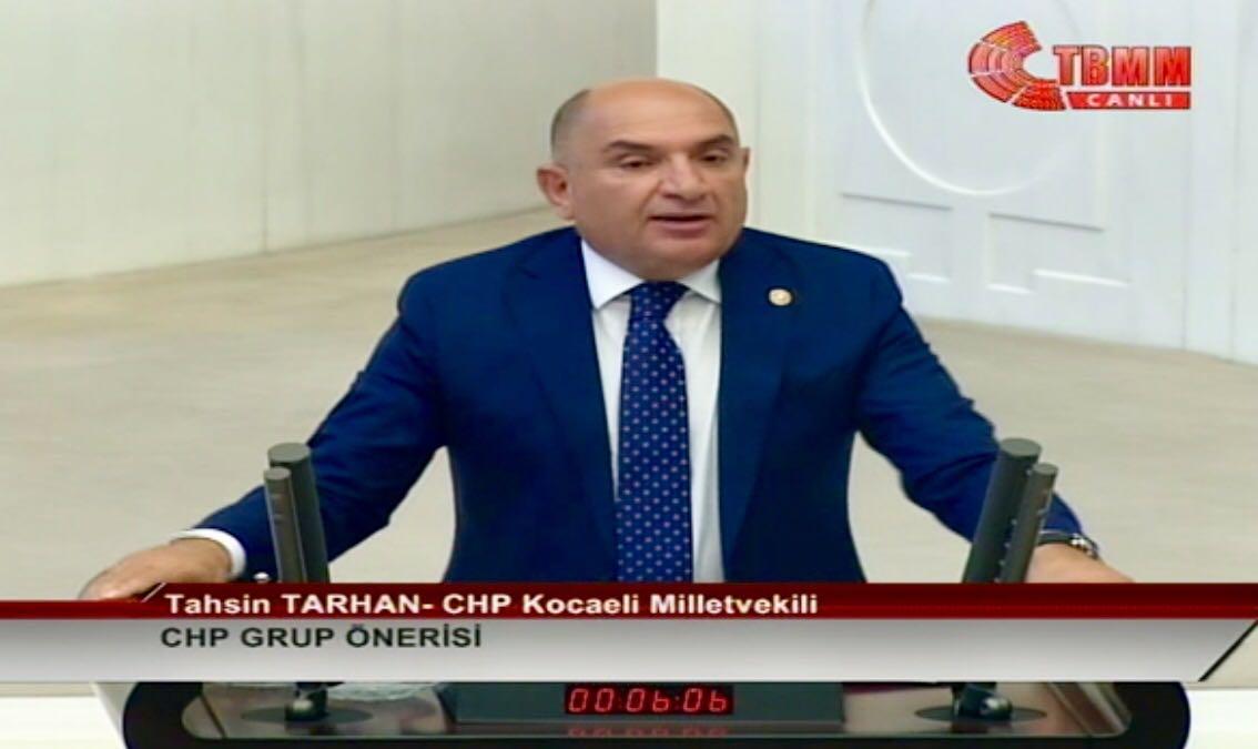 Milletvekili Tarhan; Türkiye Tablosu İçler Acısı