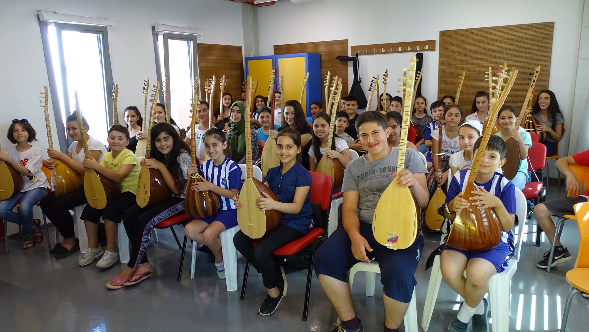 Geleceğin sanatçıları Gebze'de yetişiyor!