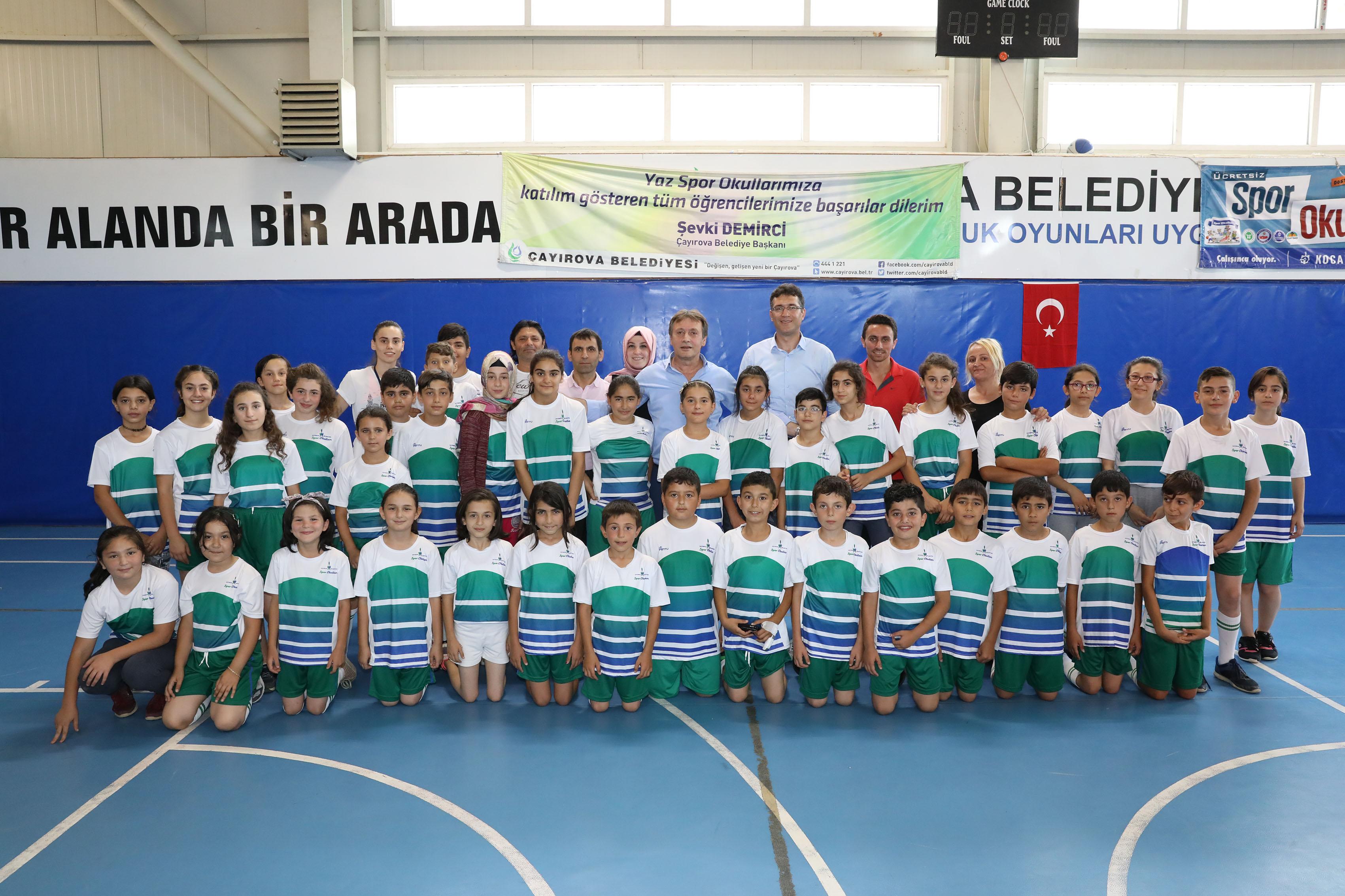 """Demirci, """"Yaz Spor Okullarımızda Eğitim, Sanat ve Spor Bir Arada"""""""