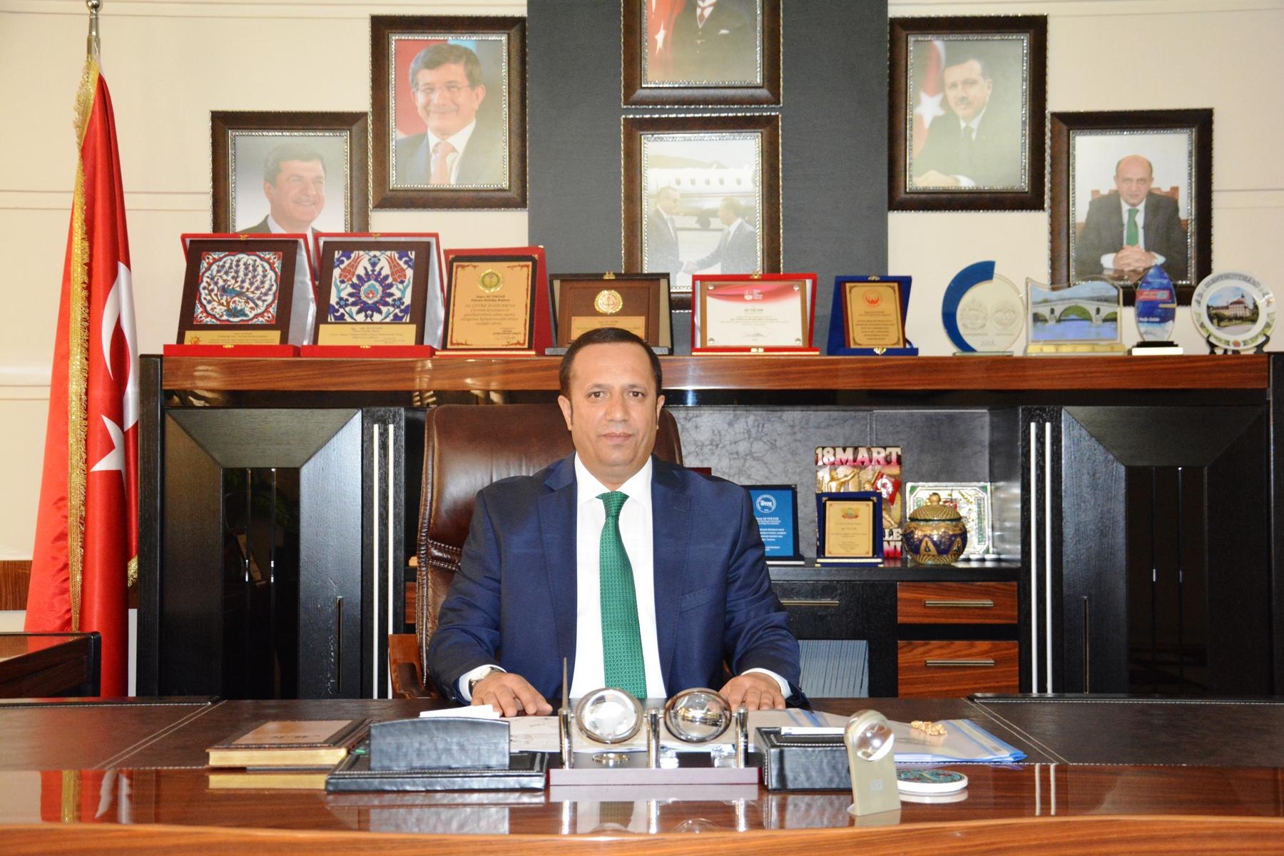 Başkan Toltar'dan 17 Ağustos Mesajı