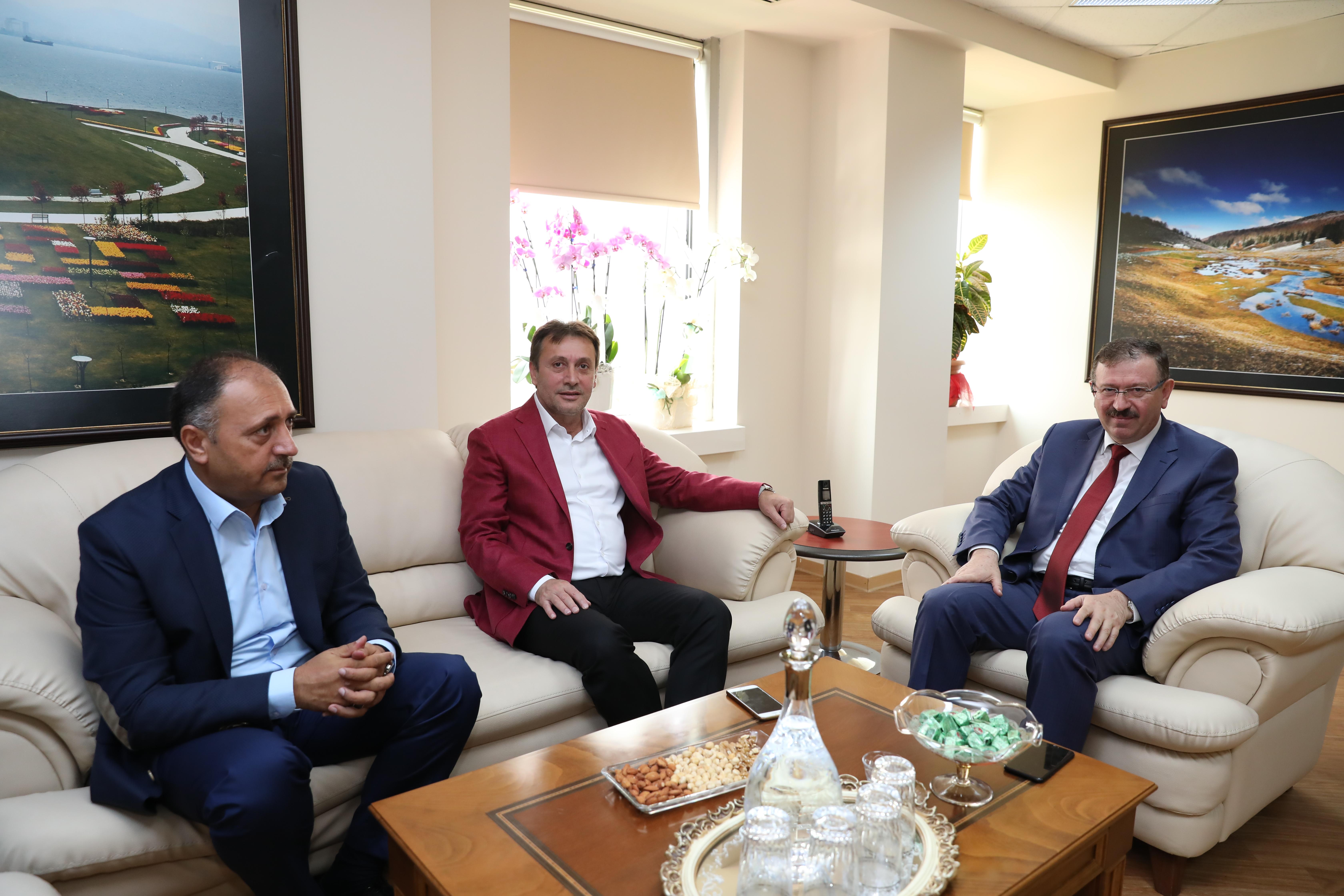 Demirci'den Genel Sekreter Bayram'a Hayırlı Olsun Ziyareti