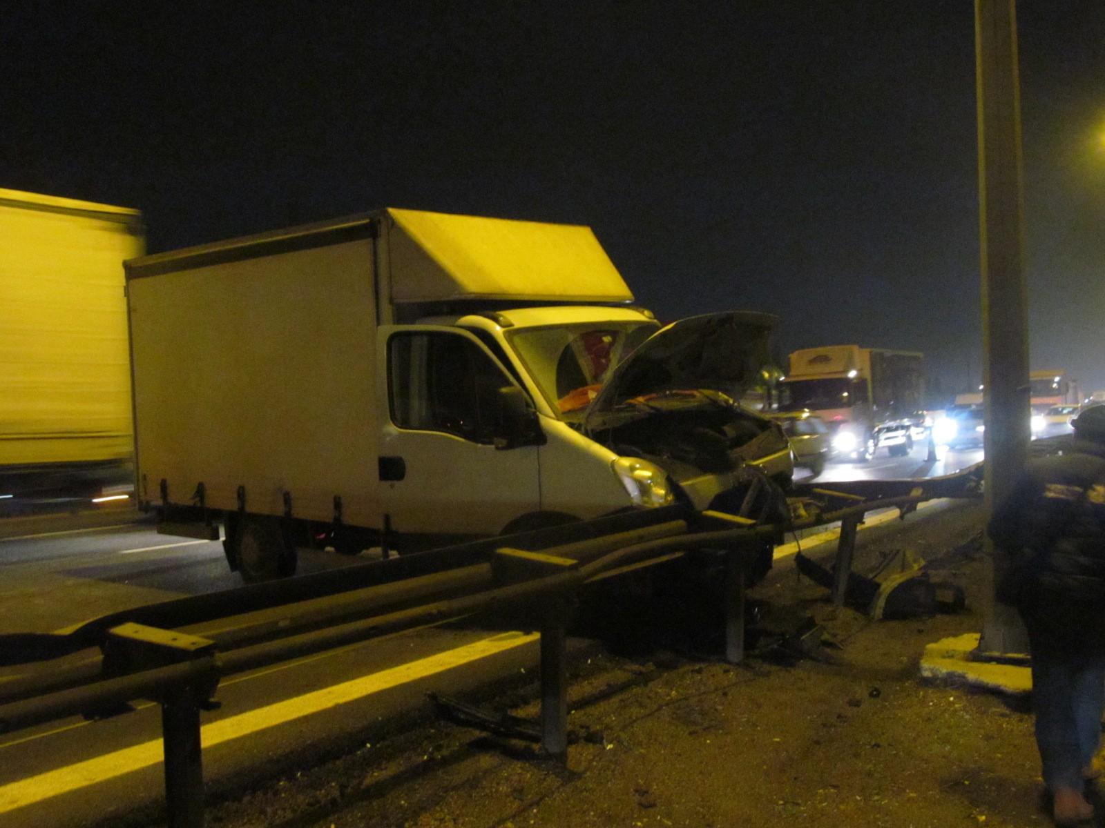 Gebze TEM otoyolda zincirleme trafik kazası: 1 yaralı