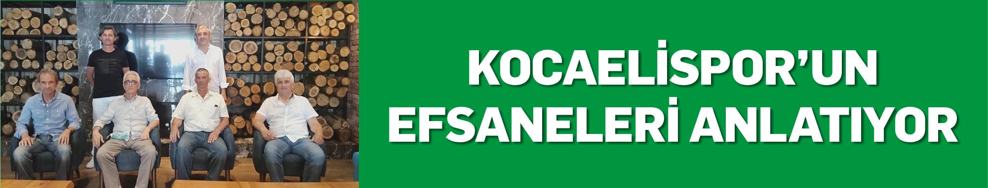 Kocaelispor'un Efsaneleri Anlatıyor