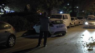 Kaza yapan otomobil karşı şeride geçti: 1 yaralı
