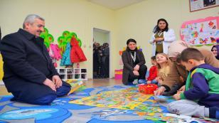 Başkan, çocukların hayaline ortak oldu