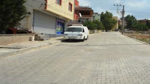 Mimarsinan Mahallesi'nde parke yol çalışmaları tamamlandı