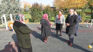 Köşker'den Barış'ta inceleme turu