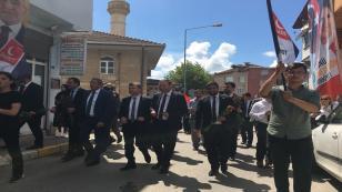 """""""Saadet yürüyüşü devam ediyor"""""""