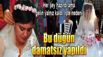 Damatsız düğün!!!