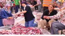 Büyükşehirin 7 mezbahanesinde 500 kurban kesildi