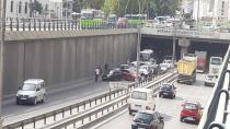 Seka Tüneli'nde zincirleme kaza!