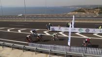 Osmangazi Köprüsü'nden Bin 240 Bisikletçi Geçti