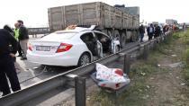 Otomobil kamyonun altına ok gibi saplandı: 1 ölü, 2'si çocuk 5 yaralı
