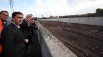 Başkan Karaosmanoğlu, 25 Milyon TL'lik Asar deresi projesini denetledi