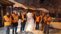 Kar Komandoları İş Başında