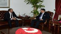 Başkan Toltar'dan Topaca'ya hayırlı olsun ziyareti