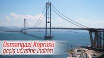 Osmangazi Köprüsü'nün ücreti değişti!