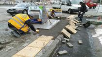 Gebze'de parke çalışmaları