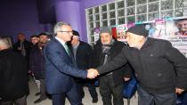 Başkan Köşker'den Arapçeşme'ye hizmet sunumu