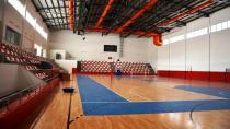 Çok amaçlı kapalı spor salonu açılışa hazırlanıyor