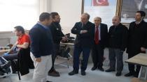 Kızılayın Kan Kampanyası  Şehit  Edip Zengin Anadolu lisesinden başladı