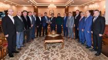 Memur-Sen Başkanlarından Vali'ye  Ziyaret