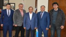 Başkan Toltar, İLKÇEV' misafir etti