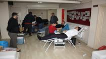 Saadet Partisi Kan Bağışında Bulundu