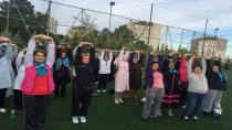 Gebze'de 15 bin kadının spor yapması hedefleniyor