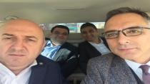 İlçe başkanları Ankara'ya gittiler