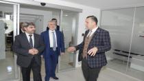 Başkan Vekili Kabadayıoğlu'ndan Doğusel Hukuk Bürosu'na ziyaret