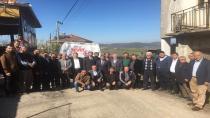 """Yılmaz, Körfezin köylerinde """"Cumhurbaşkanlığı Hükümet Sistemini"""" anlattı"""