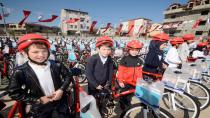 622 öğrenci daha bisikletine kavuştu
