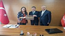 CHP'den partilere teşekkür ziyareti