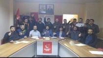 Abdülkadir Karaduman Cayırova Saadet Partisi İlçe Gençlik Kollarını Ziyaret Etti