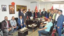 Korkmaz'dan MHP'ye hayırlı olsun ziyareti