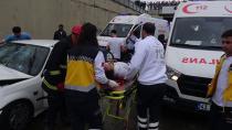 Gebze'de feci kaza:4 yaralı