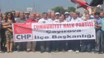 Çayırova CHP'den Adalet yürüyüşü