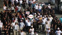 Adalet yürüyüşünün 18'inci günü sona erdi