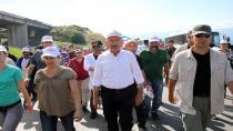 Kılıçdaroğlu, Adalet Yürüyüşü'nün 20. gününde ilk molayı verdi