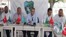 Kocaelispor başkanı ve yönetimi basının önüne çıktı