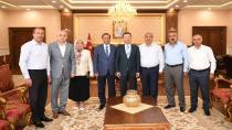 Başkan Toltar ve Meclis Üyelerinden Vali'ye ziyaret