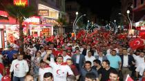 Çayırova'da On Binler Tek Yürek 15 Temmuz'u Andı