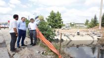 Genel Sekreter Bayram İlk Adım Köprüsü'nü inceledi