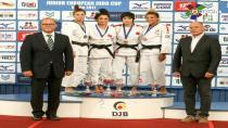 Judocu Tuğçe, Berlin'den bronzla madalya ile döndü