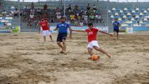 Plaj Futbolunda şampiyon Büyükşehir Kandıra Park Bahçeler